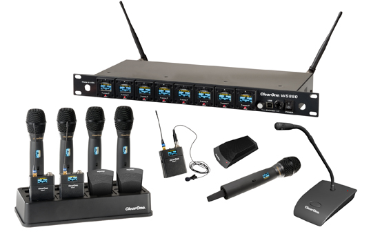 ClearOne Beamforming Microphone Array for Pro Audio - the clearest audio conferencing sound with beam steering technology